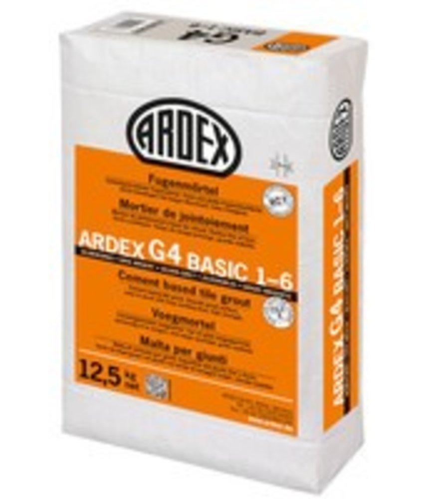G4 BASIC 1-6 – Zementgebundener Fugenmörtel