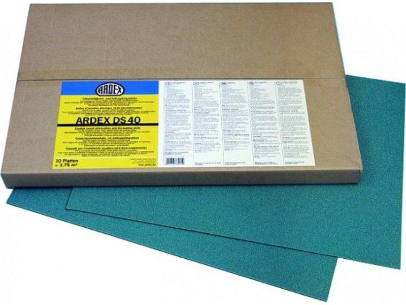 ARDEX DS 40 – Trittschalldämm- und Entkopplungsplatte