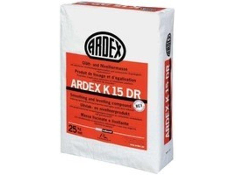 ARDEX K 15 DR – Glätt- und Nivelliermasse (25 Kg)