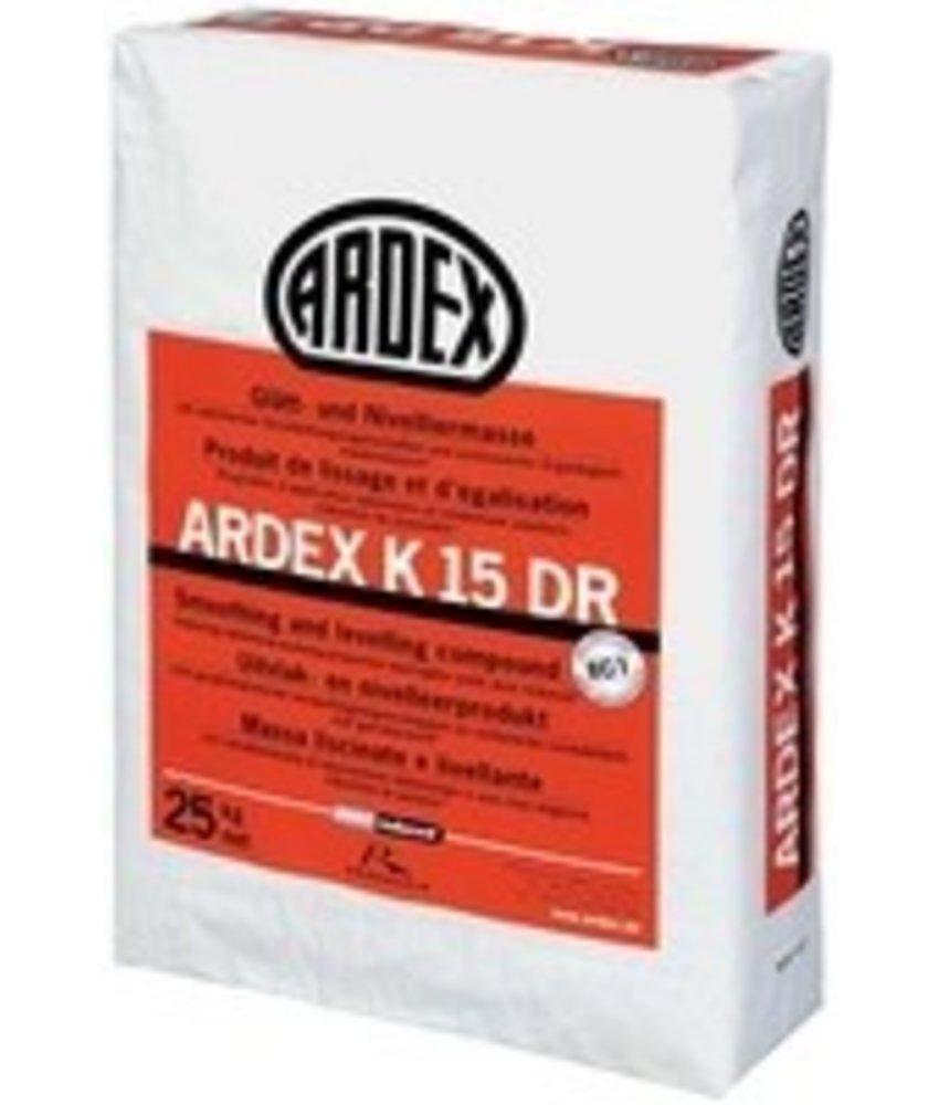 K 15 DR – Glätt- und Nivelliermasse (25 Kg)