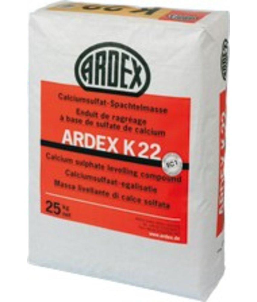 K 22 – Calciumsulfat-Spachtelmasse (25 Kg)