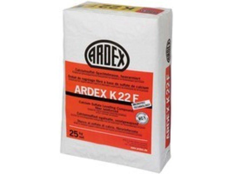ARDEX K 22 F – Calciumsulfat-Spachtelmasse faserarmiert (25 Kg)