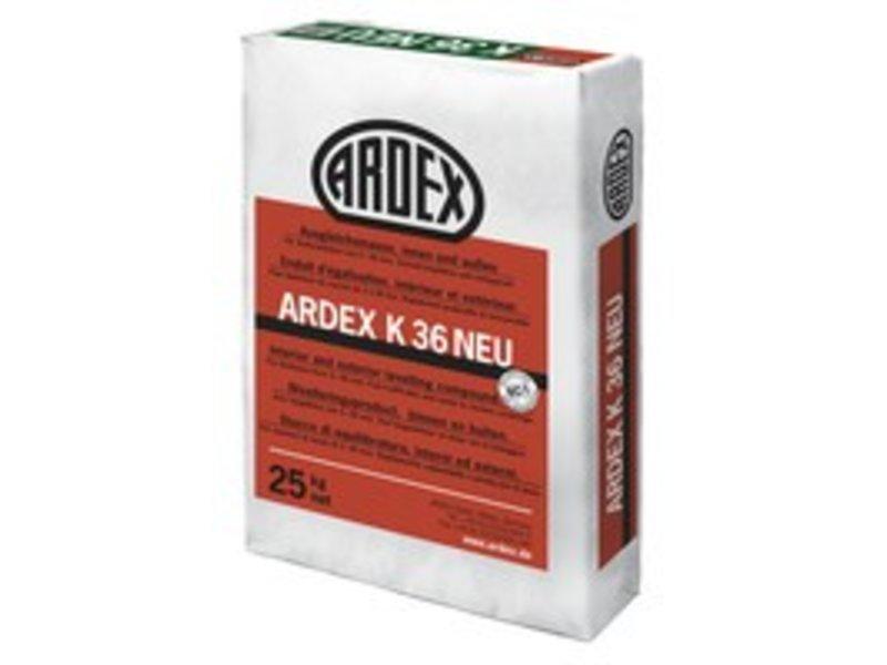 ARDEX K 36 NEU – Ausgleichsmasse, innen & außen (25 Kg)