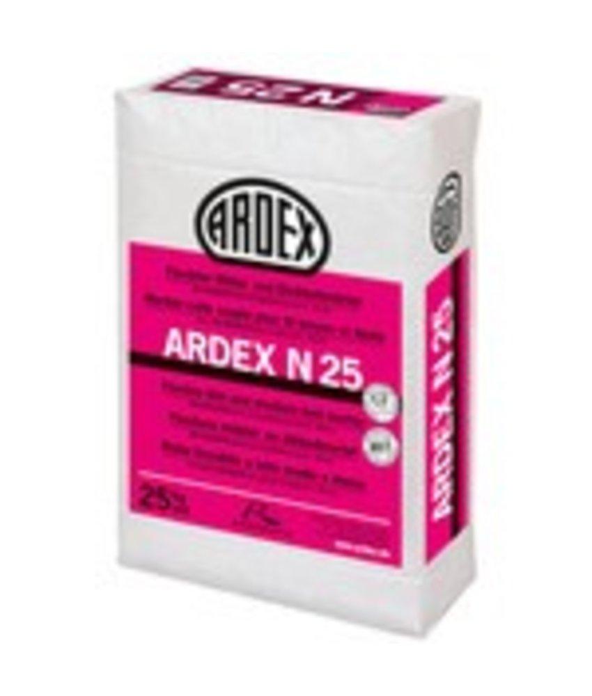 N 25 – Flexibler Mittel- und Dickbettmörtel (25 Kg)
