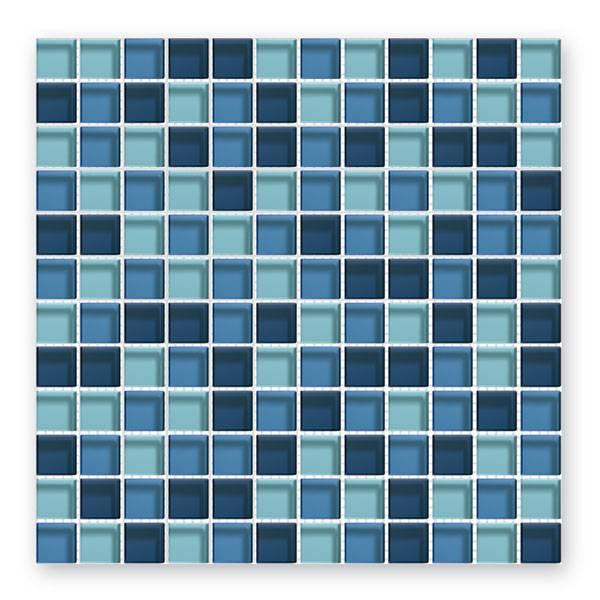 b rwolf glasmosaik fliesen gl 2342 translucent blue mix mosaic outlet. Black Bedroom Furniture Sets. Home Design Ideas