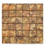 BÄRWOLF Glas-Mosaikfliesen GL-2530 Byzantine creme