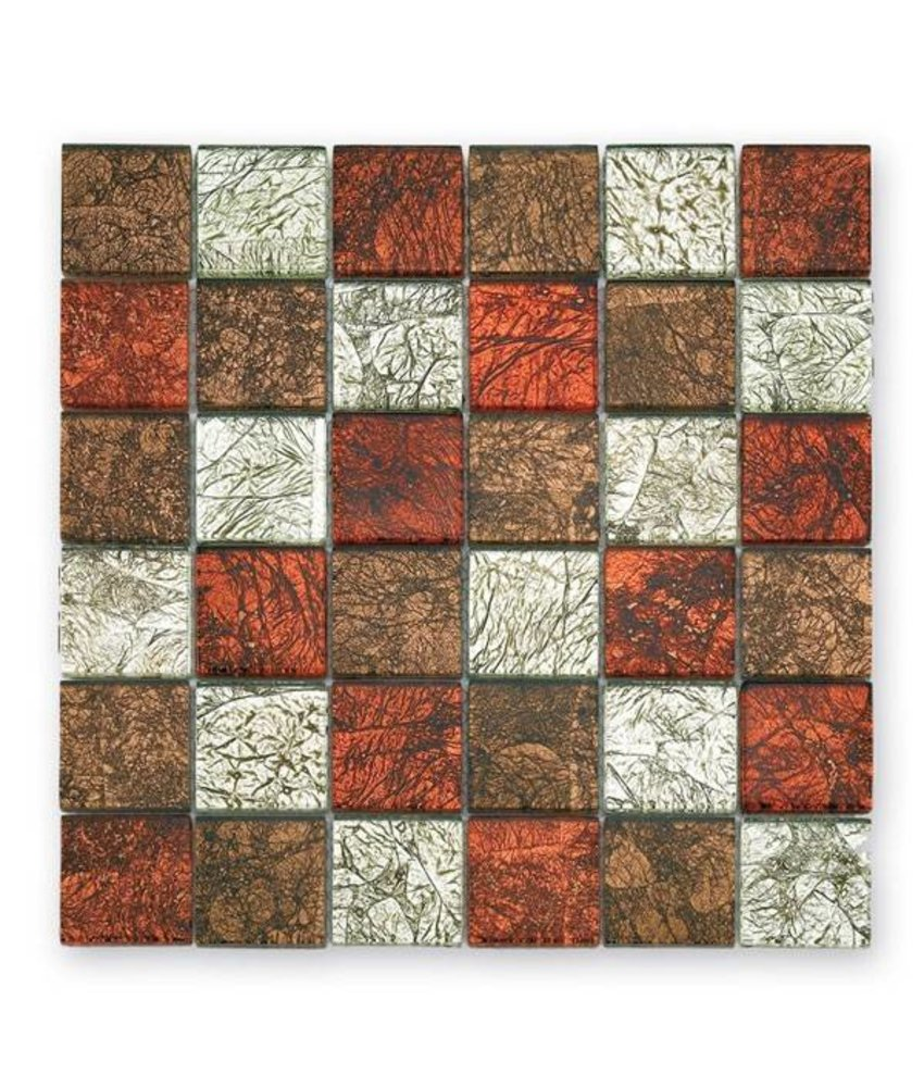 Materialmix-Mosaikfliesen GL-2535 Byzantine colour mix