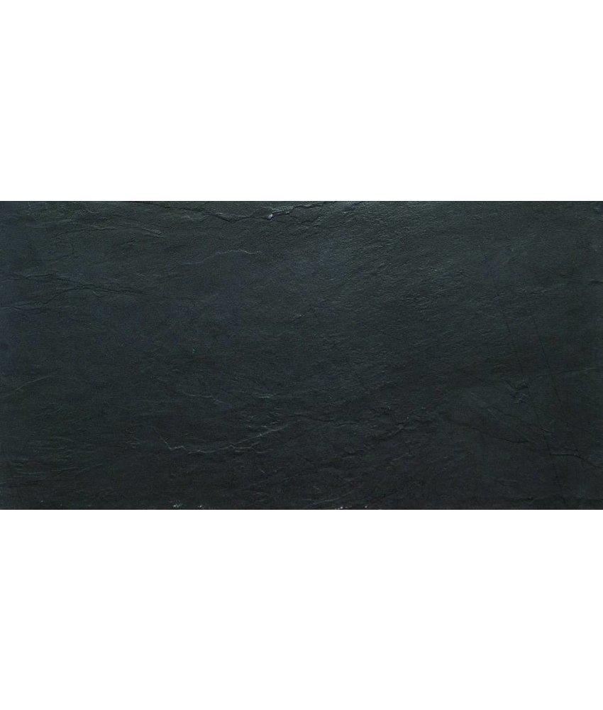 Bodenfliese Ardesia black - 45x90 cm