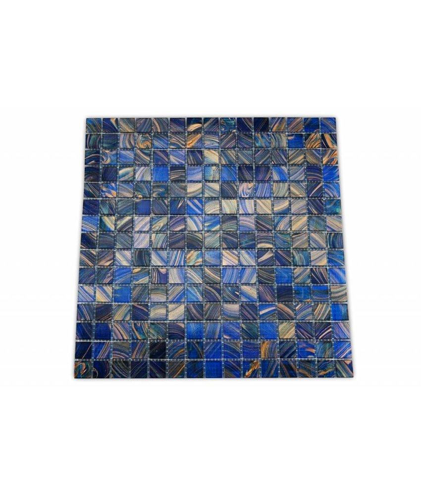 Glasmosaik fliesen gunstig verschiedene for Raumgestaltung blau
