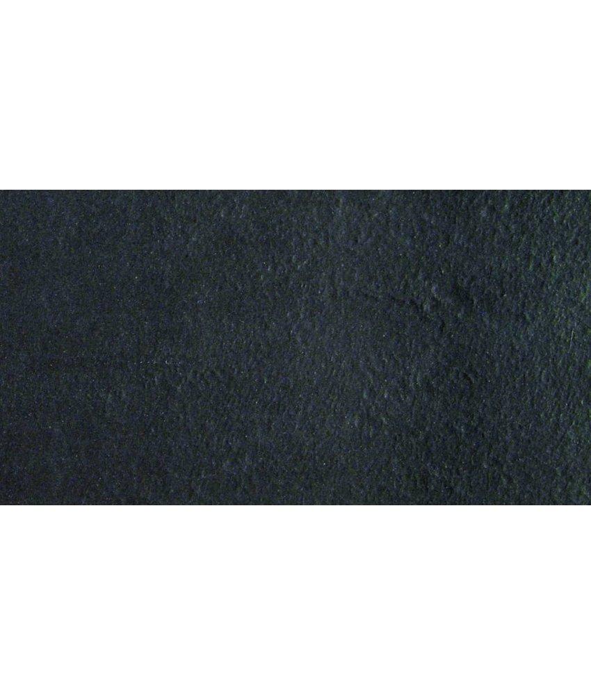 Feinsteinzeugfliese Gems black rustic - 30x60 cm