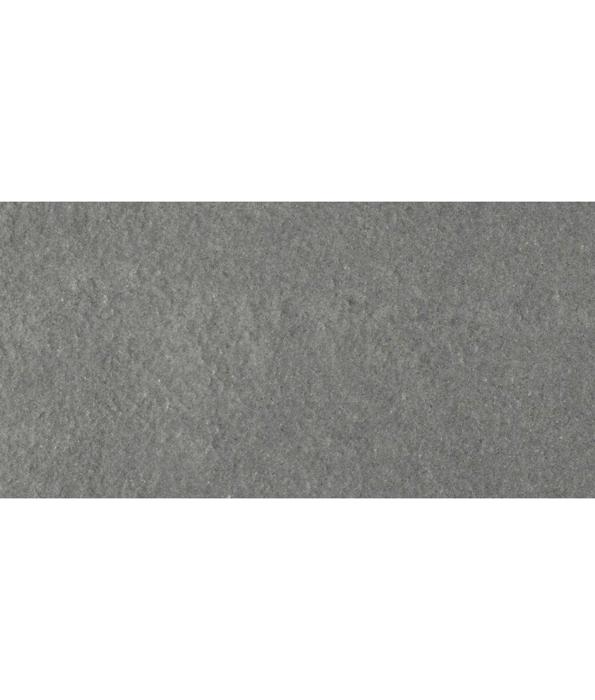 Feinsteinzeugfliese Gems anthracite rustic - 30x60 cm