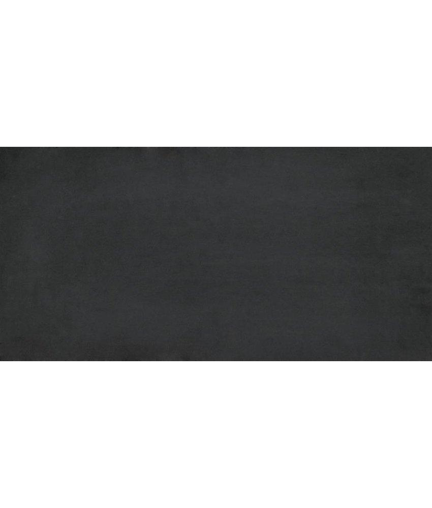 Feinsteinzeugfliese Gems black matt - 45x90 cm