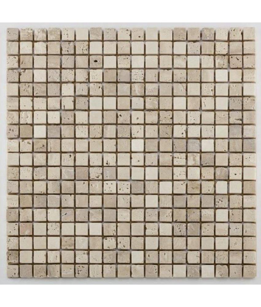 Naturstein Mosaikfliesen Orvieto AM-0003 beige