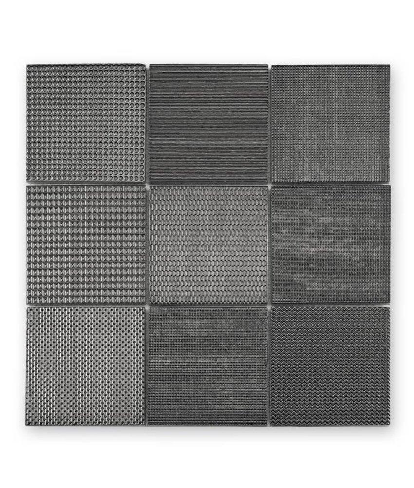 Keramik Mosaikfliese Taris KEG-14040 anthrazit