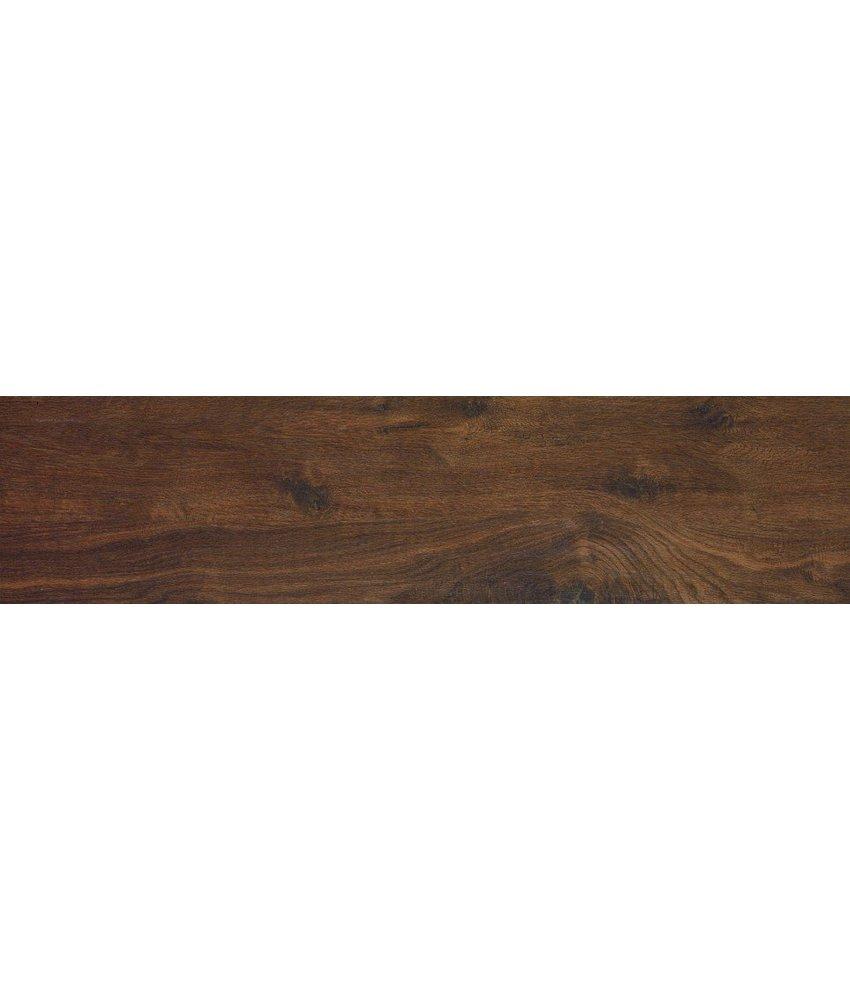 Bodenfliese Teverkhome Castagno, rektifiziert - 30x120 cm