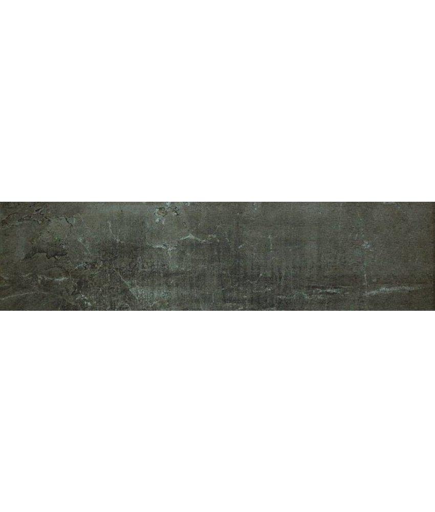 Bodenfliese Blend Brown, rektifiziert - 30x120 cm