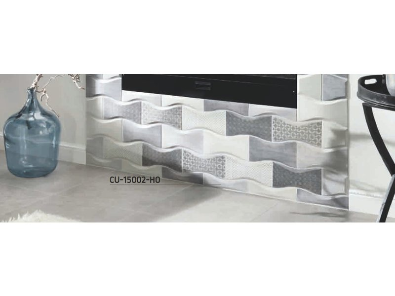 BÄRWOLF Ambience Curve CU-15002-VE Endstück vertikal grau