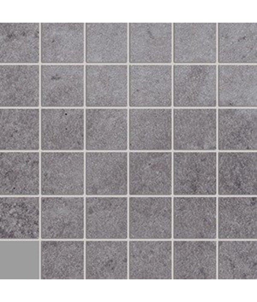 Loft LOF7110 Mosaik grau 5x5, R10B - 30x30 cm