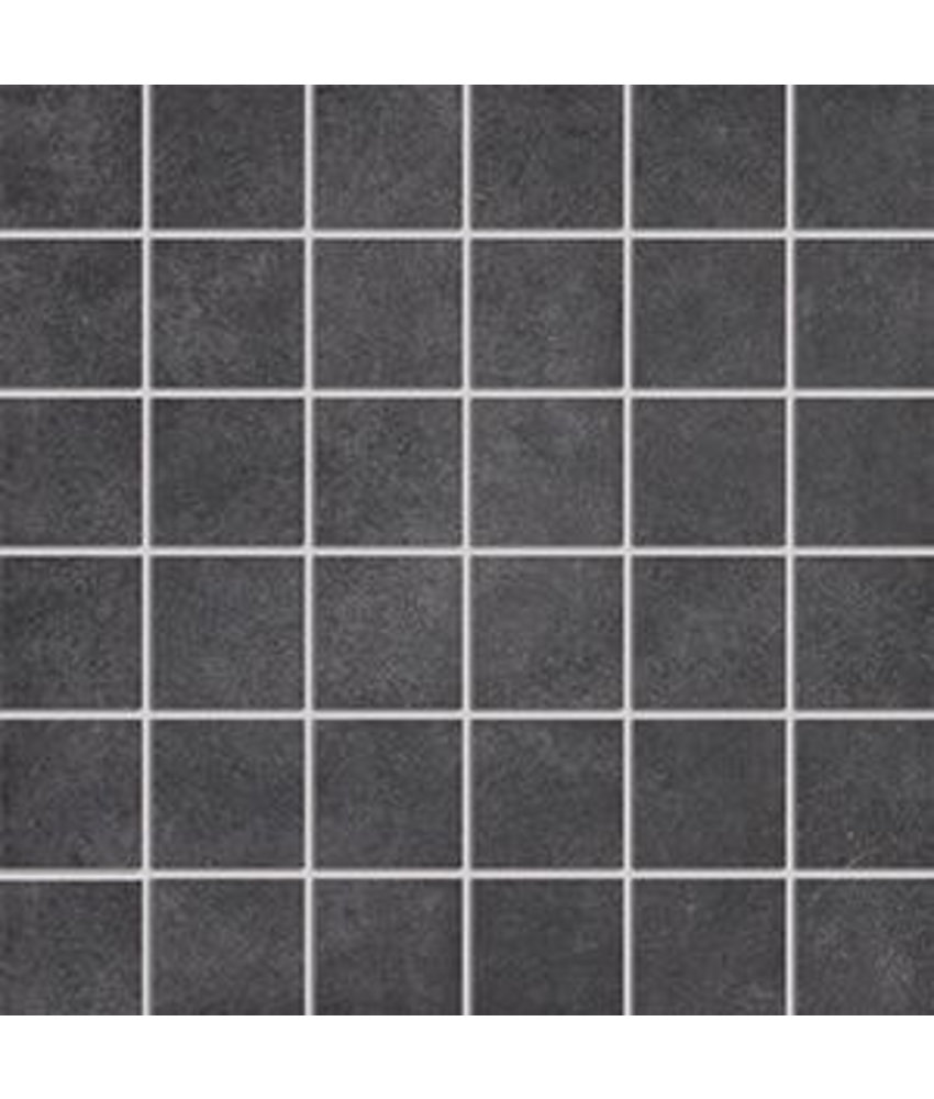 Mosaik Gent GET7150 anthrazit 5x5, R10B - 30x30 cm