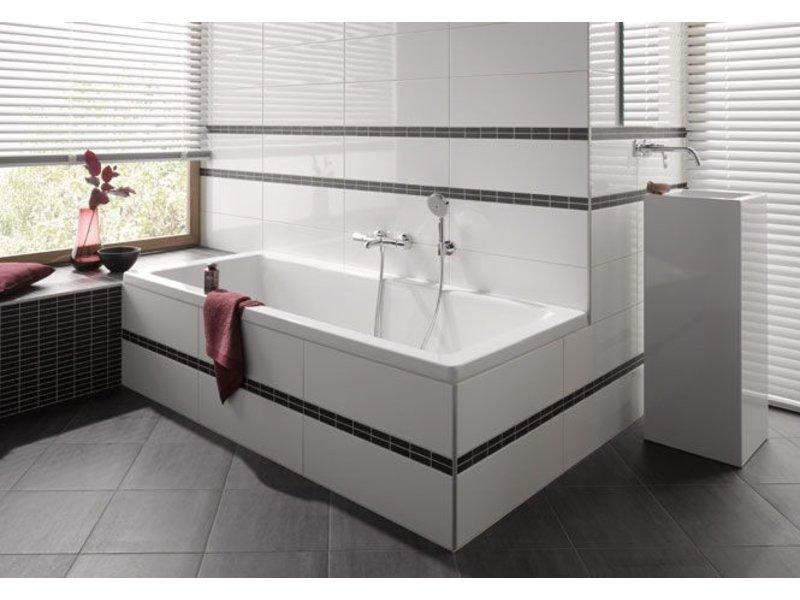 mctile wandfliesen cilento 2060686g wei gl nzend gestreift 20x60 cm mosaic outlet. Black Bedroom Furniture Sets. Home Design Ideas