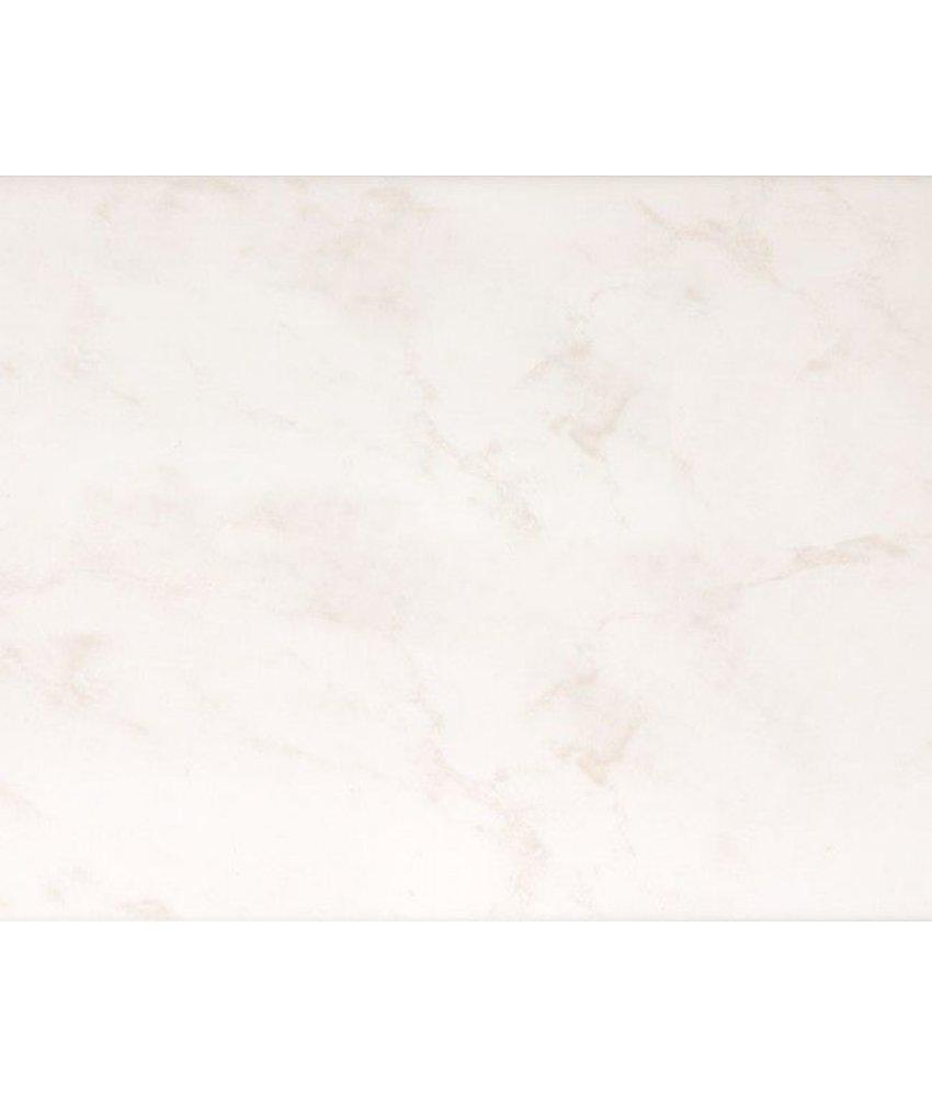 Wandfliesen 15x20 Cm Weiss Grau Glanzend Marmoriert