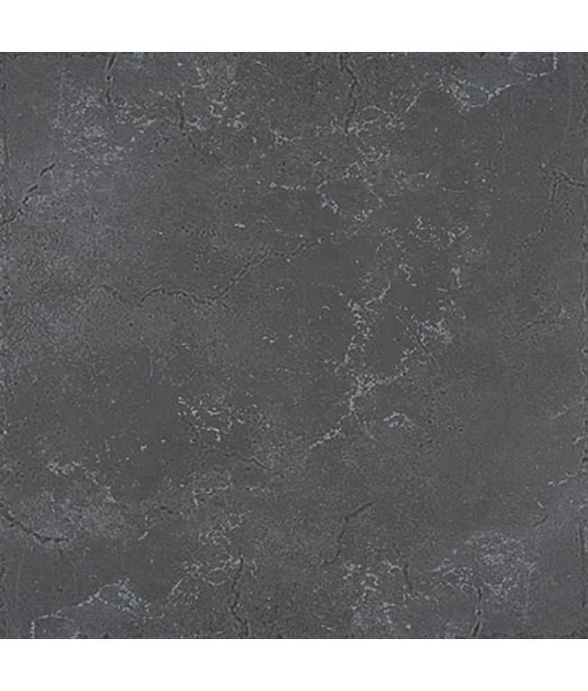 Verona Feinsteinzeug glasiert Bodenfliesen 3333592N Anthrazit / R9, Abr.4 - 33x33cm