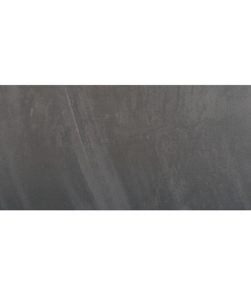 Architects Feinsteinzeug Bodenfliesen 3060825K Anthrazit, rektifiziert / R11B - 30x60cm