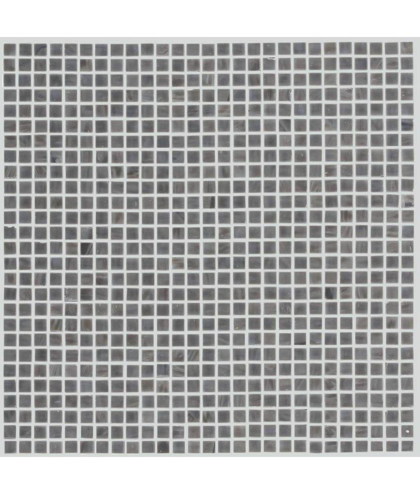 Glasmosaik Mini Dark Grey, glänzend - 30x30cm