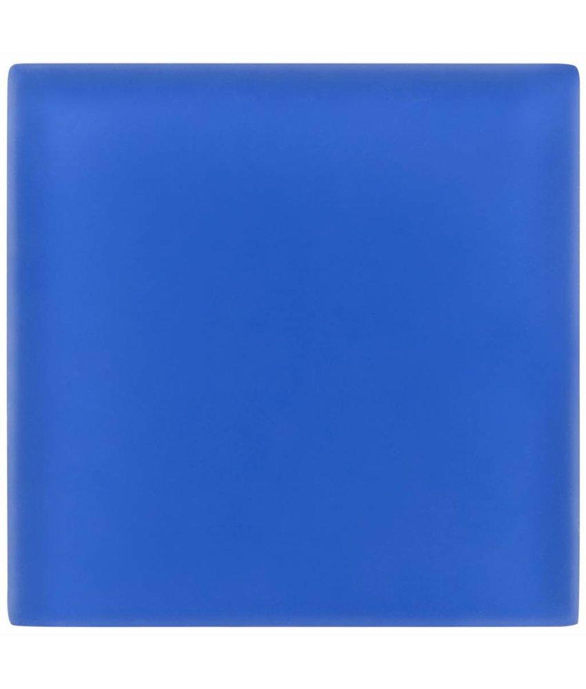 Glasmosaik Blau, glänzend - 10 cm x 10 cm