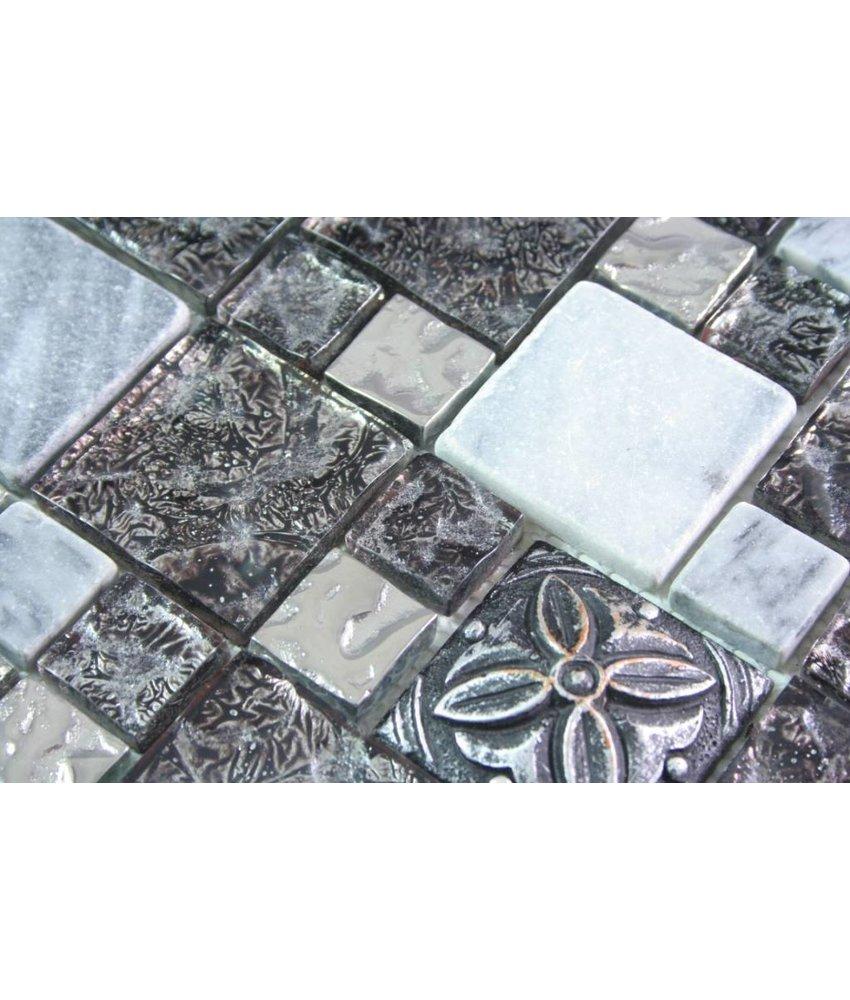 Mosaikfliesen Für Jeden Einsatzbereich Zu Günstigen Preisen Mosaic - Mosaik fliesen 5x5cm
