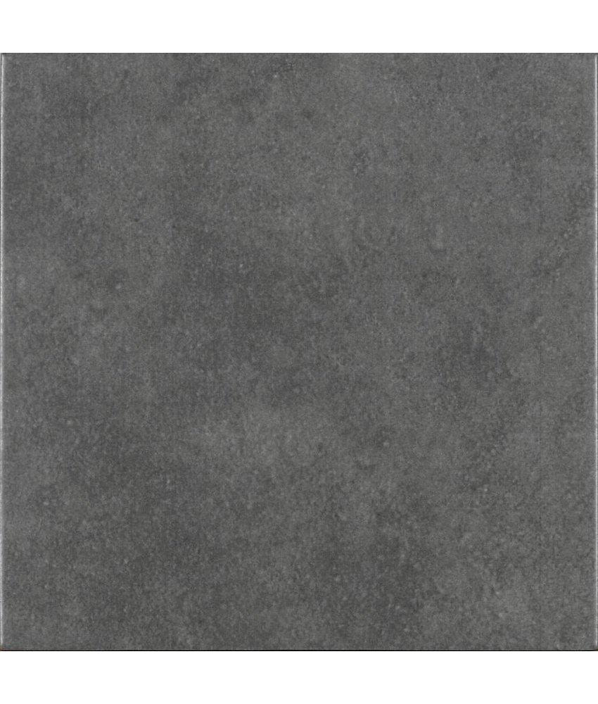 Bodenfliese Vintage Art Dunkelgrau - 22,3 cm x 22,3 cm