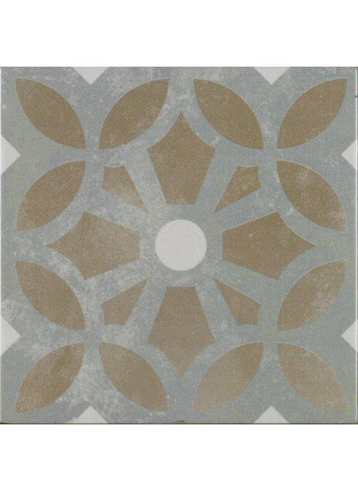 Bodenfliese Vintage Art Cezzane - 22,3 cm x 22,3 cm