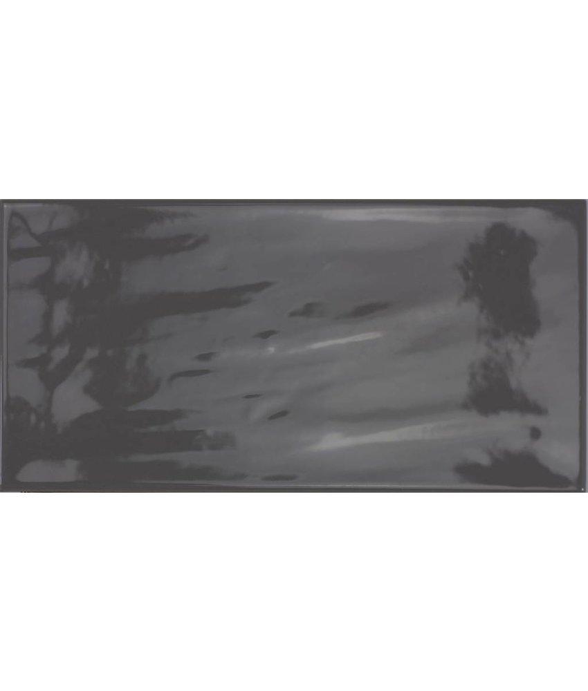 Wandfliese Vintage Loft Dunkelgrau - 10 cm x 20 cm