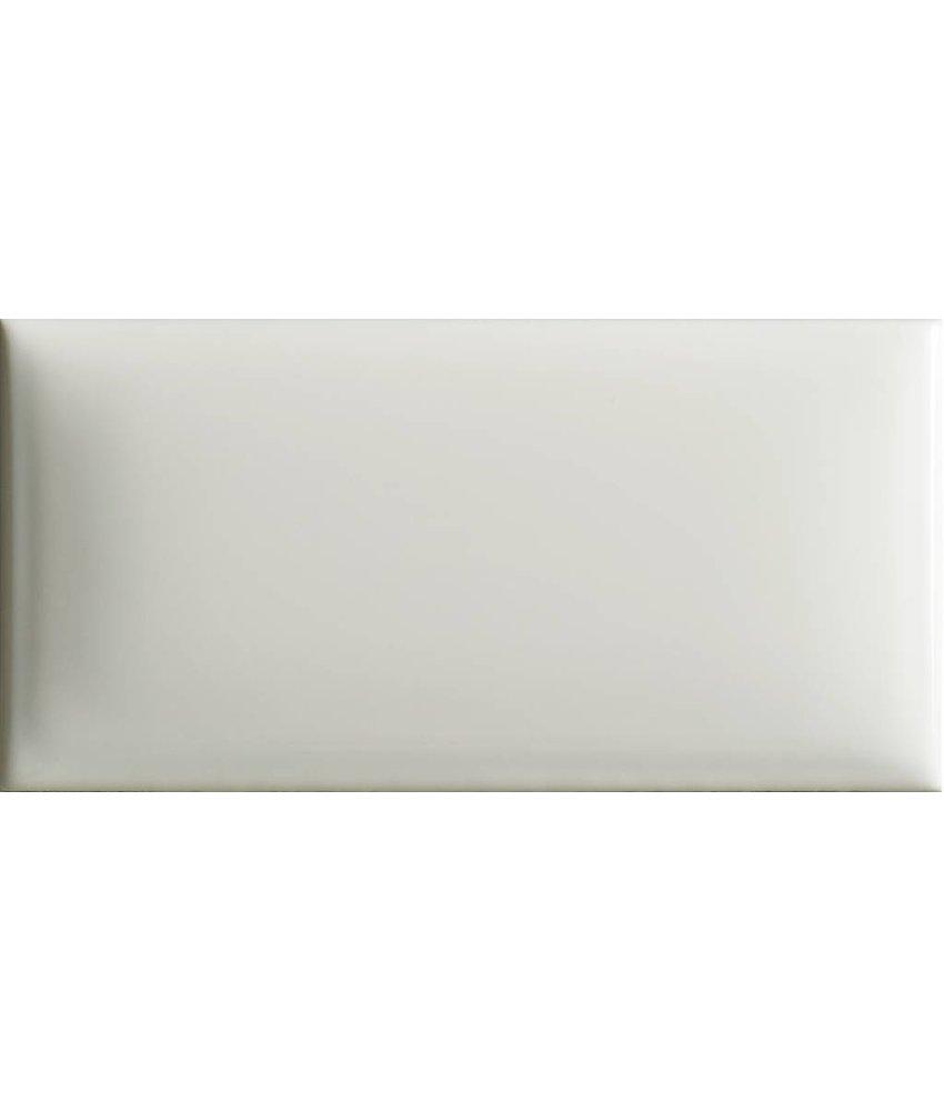 Wandfliese Bold Weiß  - 7,5 cm x 15 cm