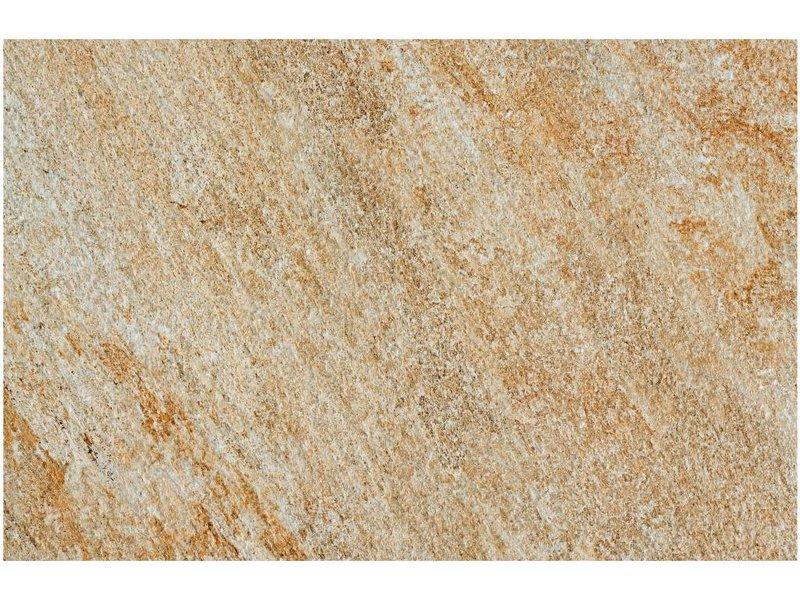 Terrassenplatte Feinsteinzeug Manhattan Beige 60 Cm X 90 Cm