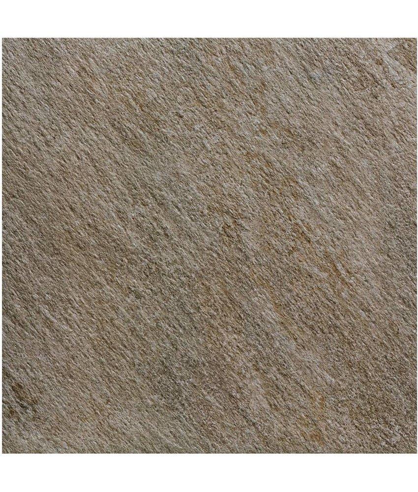 Terrassenplatte Feinsteinzeug Manhattan Dunkelgrau - 60 cm x 60 cm