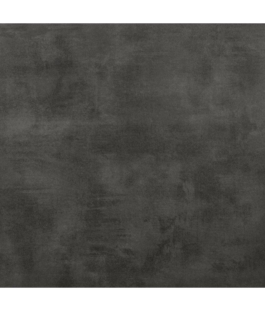 Terrassenplatte Feinsteinzeug Streetline Graphit - 60 cm x 60 cm