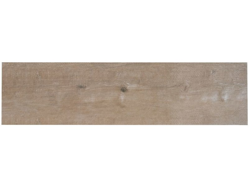 Terrassenplatte Feinsteinzeug Timberwood Avana - 30 cm x 120 cm