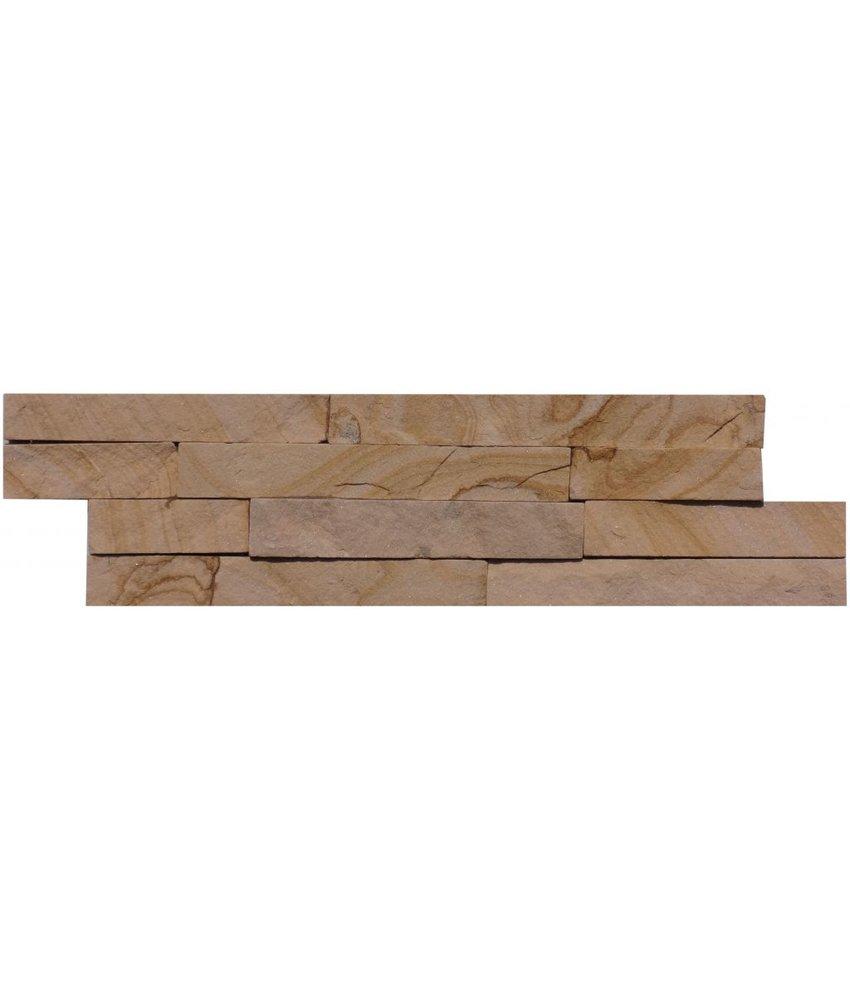 Wandverblender Naturstein Sandstein Pietra - 10 cm x 40 cm