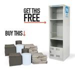 PIG® Koop 2 sets universele absorbents en krijg er een Handy Safety kast gratis bij!