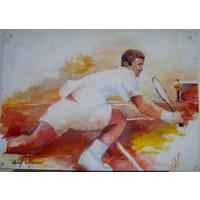 Tennis - Half court