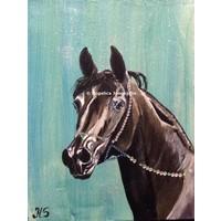Arabisch Paard zwart