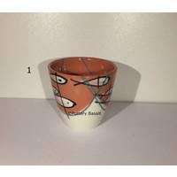 Handgemaakte Expressomokjes van porselein