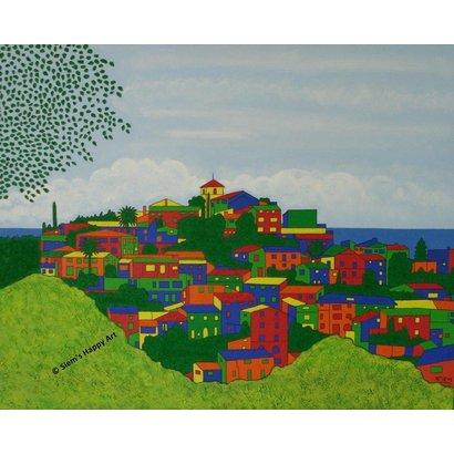 Een blik op Deia - Siem's Happy Art