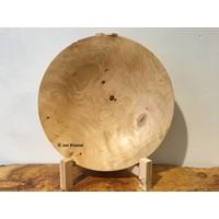 Coniferenhouten schaal