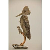 Vogel van drijfhout