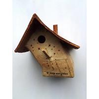 Vogelhuis scheefwonen