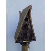 Vogelhuis Puntdak op paal