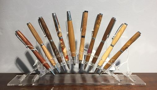 Handgemaakte pennen
