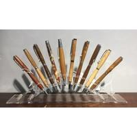 Houten pennen